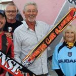 Olhanense and Coventry City fans link up