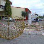 Reward offered over monument vandalism