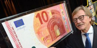 New counterfeit-proof €10 note