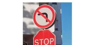 'Stop the McCann circus' signs in Praia da Luz