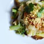 Bacalhau with a meaty twist