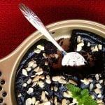 Irresistible, easy-to-make carob brownies