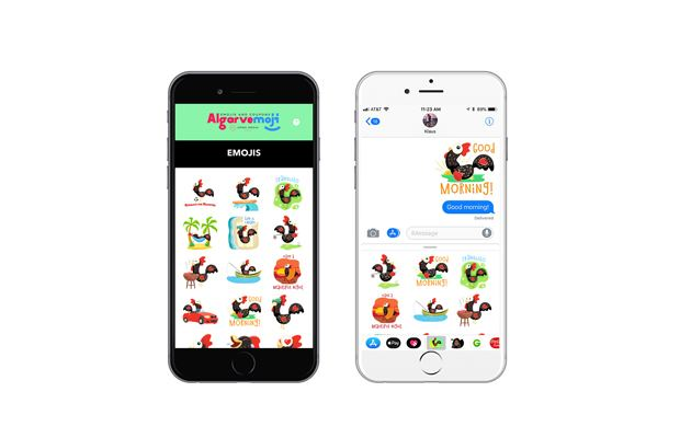 New emoji and coupon app launched in Algarve - Portugal Resident