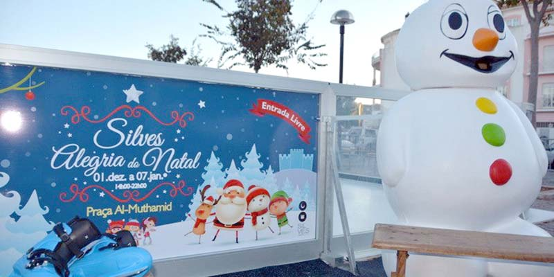 Christmas In Portugal 2019.Silves To Boast Large Ice Rink And Christmas Tree Portugal