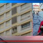 Prédio Coutinho demolition starts with nine besieged homeowners still inside