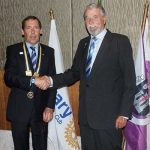 Almancil Rotary president receives chain of office