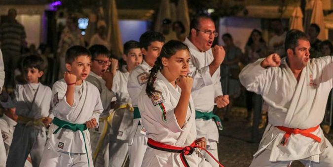 Martial Arts front and centre in Tavira
