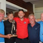 Dave Ling Memorial Trophy raises €1,750 for Macmillan