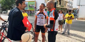 "Cyclists complete EN2 bike ride in ""record time"" in Faro"