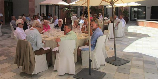 Algarve Wine Society lunch party to mark the summer season