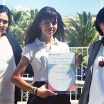 Leonor, 15, receives Outstanding Cambridge Learner Award