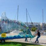 Giant plastic dolphin arrives at Portimão Museum this weekend