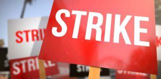 Hotel staff on strike
