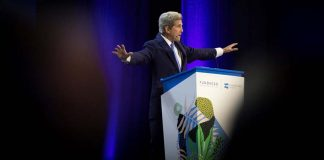 """John Kerry tells Lisbon summit: """"we're losing the battle"""" for the planet's future"""