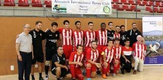 Almancil Rotary supports junior futsal team
