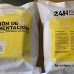 Catastrophe rations delivered to Portimão firefighters