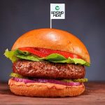 Meatless 'Beyond Burger' for sale at Apolónia Supermarkets