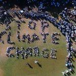 Climate action demonstration at Nobel Algarve