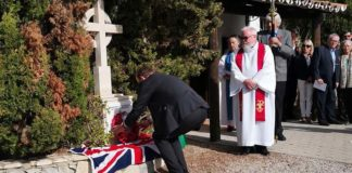 Remembrance Sunday service in Algarve