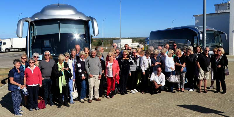 CASA members enjoy trip to Spain