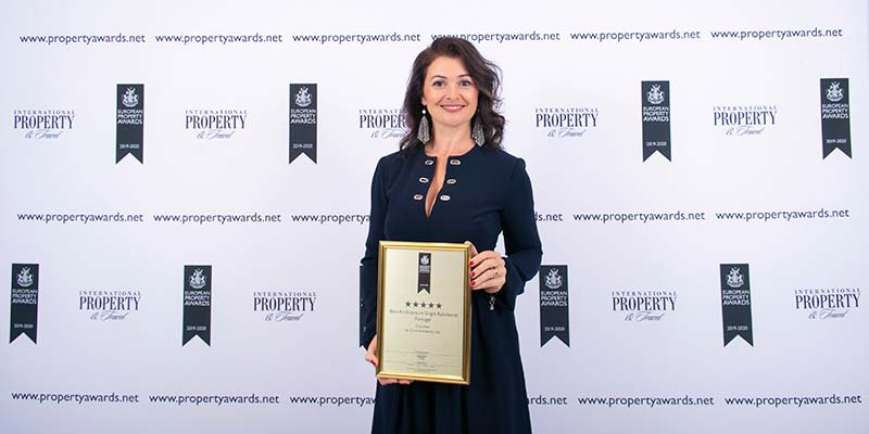 Almancil architecture firm wins top award at European Property Awards
