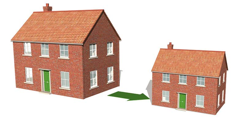 You can downsize property and still leave a lasting legacy