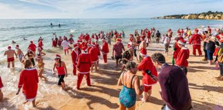 Christmas Day charity swim – now get ready for New Year's Day swim!