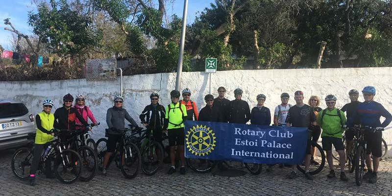 Rotary delivers vein detecting machine to Faro Hospital