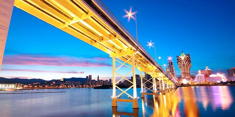 Peace and prosperity in former Portuguese Macau