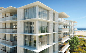 Construction of Bayline private condominium begins in Armação de Pêra