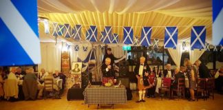 Algarve Burns Supper celebrates life and poetry of poet Robert Burns