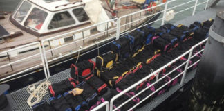 Authorities swoop on cocaine smugglers despite cyclonic winds