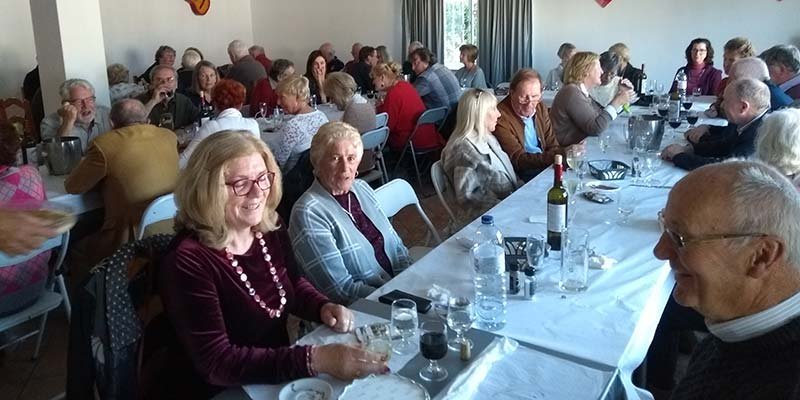 St Patrick's Society hosts New Year lunch