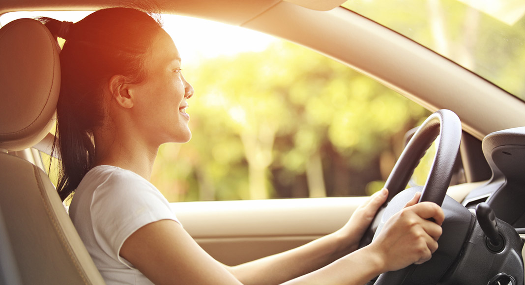 Better driving posture to arrive safe and sound and feeling great