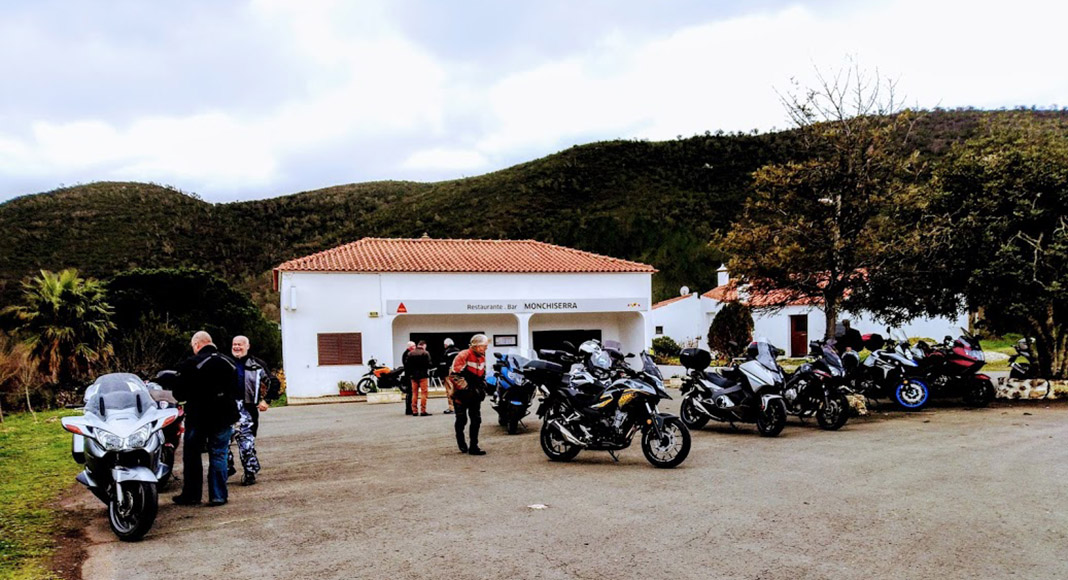 Algarve Senior Bikers enjoy first ride of the year