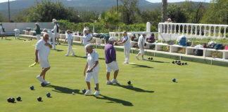 Bowls Algarve winter competitions