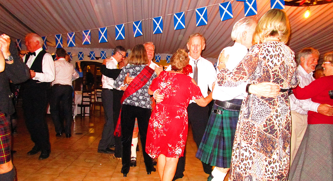 Burns Supper success for Saint Andrew's Society of the Algarve
