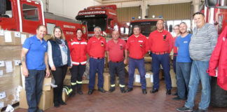 Direct Transport delivers firefighting equipment to Silves Bombeiros