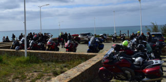 Senior bikers enjoy ride to Vila Nova de Milfontes