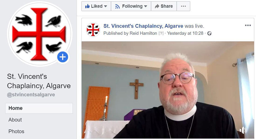 Video Vicar goes viral