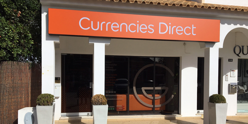 Currencies Direct office in Almancil