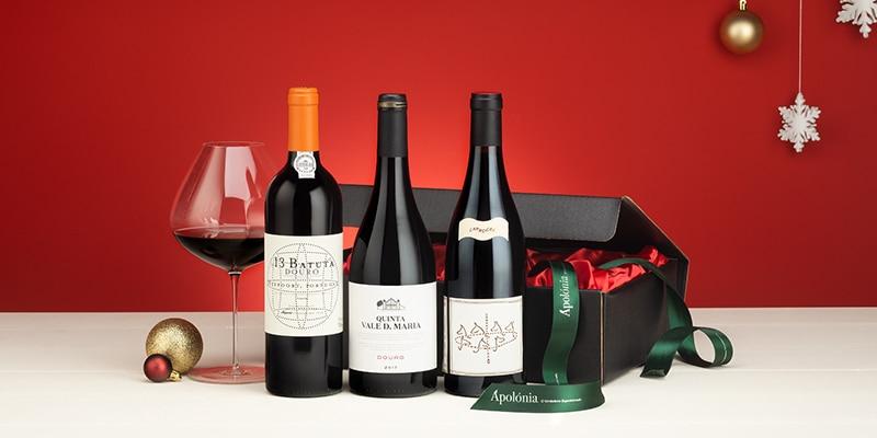 Apolónia's Christmas hampers wine selection 2020