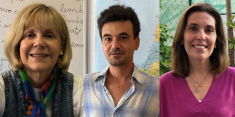the three main teachers from Centro de Línguas de Lagos