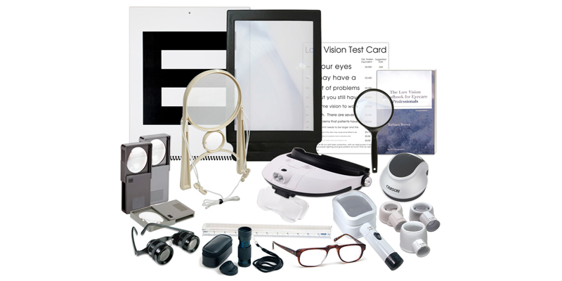 Technical aids that can be used in people with Low Vision