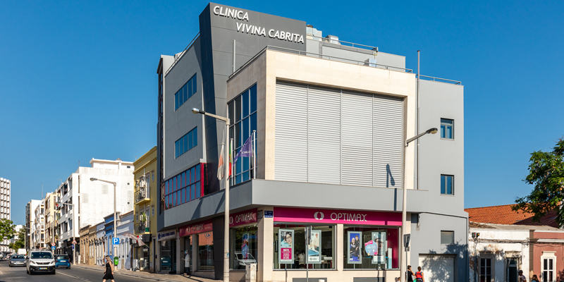 Clínica Vivina Cabrita for eye and vision diseases in Faro