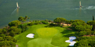 Partial view of Quinta do Lago's iconic South Course