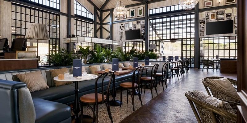 The inside of Dano's Sports Bar & Restaurant, part of Quinta do Lago eco planning