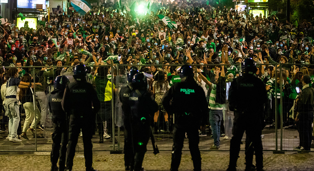 Sporting title celebrations spark Covid-19 concerns - Portugal Resident