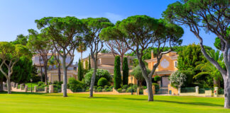 Private villas in Vale do lobo where the rise of real estate investment was felt
