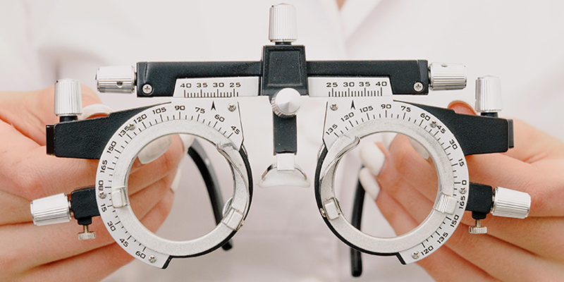 Glasses used in the children eye check-up